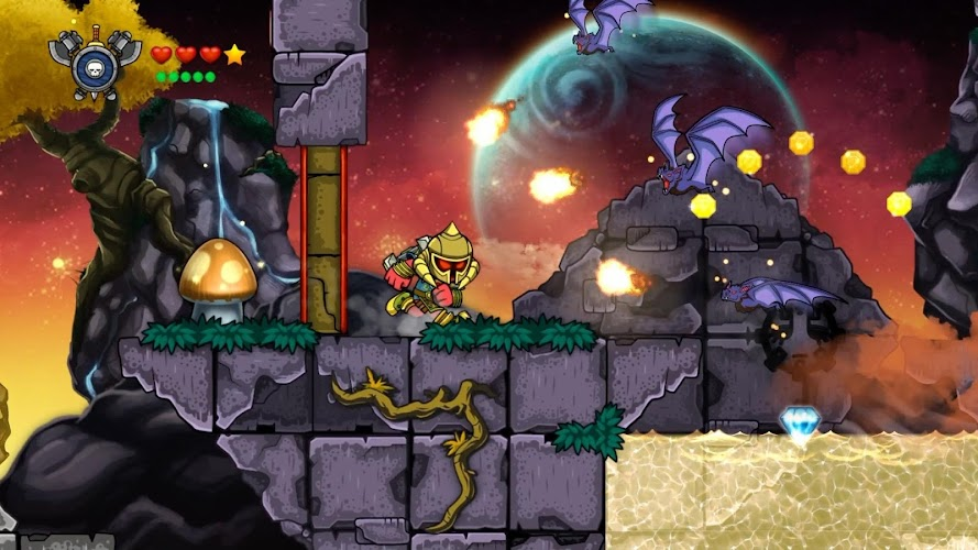Magic Rampage Android App Screenshot