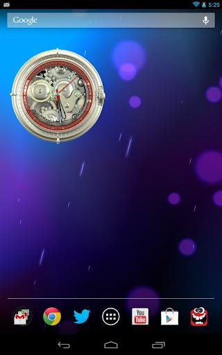 Analog Clock Wallpaper/Widget screenshot 15