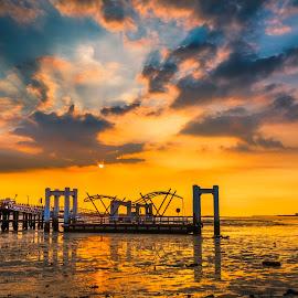 霞光映照,美麗驚艷 by Gary Lu - Landscapes Sunsets & Sunrises ( gary lu, sunset )