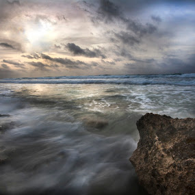 Wild sea by Cristobal Garciaferro Rubio - Landscapes Weather ( clouds, shore, water, sky, sea, sunrise, wild sea, wate )