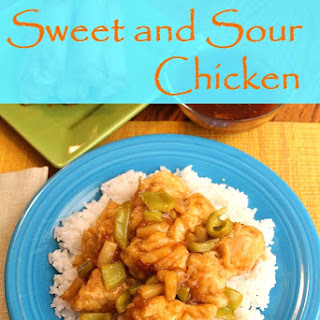 Better Than Take-Out Sweet and Sour Chicken