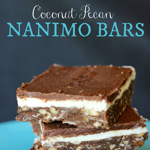 Coconut Pecan Nanimo Bars