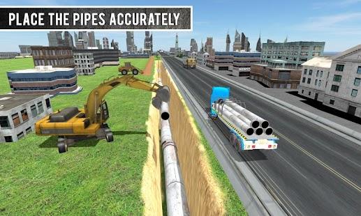 Sand Excavator Sim Truck 2016 APK for Bluestacks