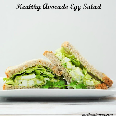 Healthy Avocado and Egg Salad