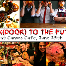 BACK(DOOR) TO THE FUTURE @ Canvas Cafe Brick Lane