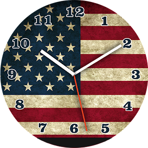 USA Flag Watch Face