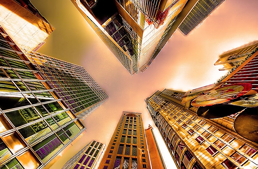 Tall Building  by Sim  Chee teck - Buildings & Architecture Other Exteriors ( building, hongkong, rise, high )