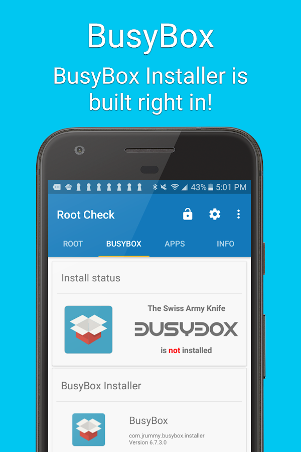 Root Check For Superuser Screenshot 1