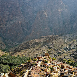 Beautiful Oman  by Sandrine Vivès-Rotger - Landscapes Travel ( holiday, mountains, village, oman, jabal shams, middle east,  )