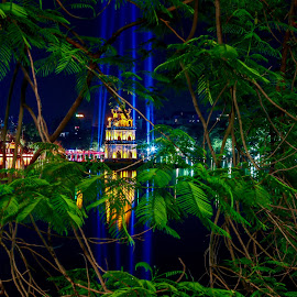 Hanoi - City by night by Rick Pelletier - Novices Only Landscapes