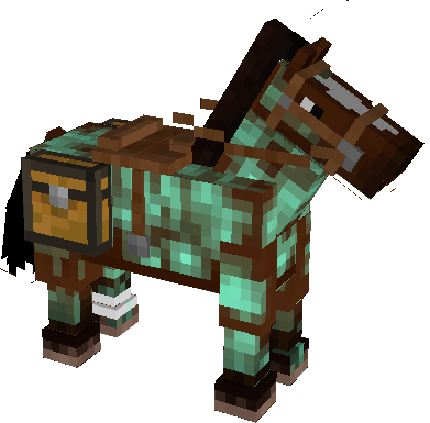 Diamond Armor for a Horse.
