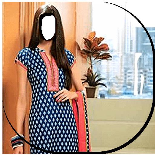 Dopatta Dress Photo Frames 2018 (app)