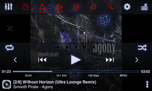 Neutron Music Player Screenshot