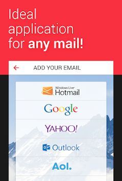 MyMail—Free Email Application APK screenshot thumbnail 1