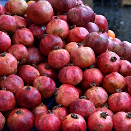 Pomegranates by Heather Aplin - Food & Drink Fruits & Vegetables