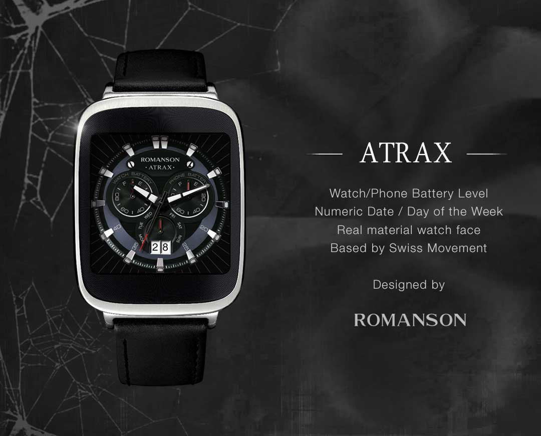 Atrax watchface by Romanson Screenshot 8