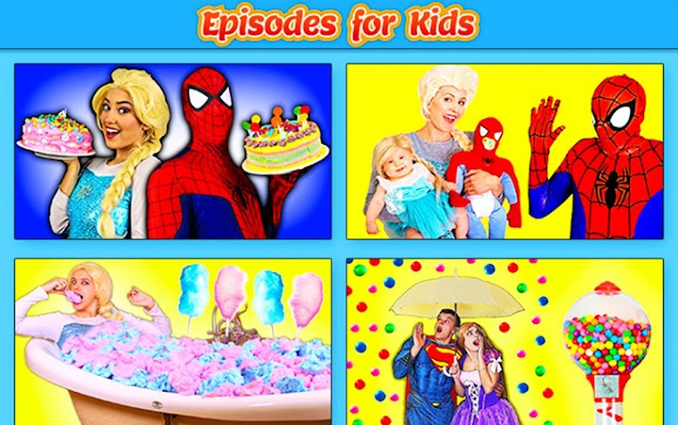 SuperheroKidsEpisodes Screenshot