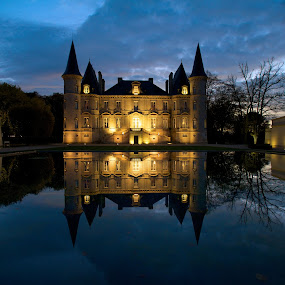 Bordeaux Chateau III  by Benjamin Arthur - Buildings & Architecture Other Exteriors ( wine, region, benjamin, graves, fine art, benjaminarthur.com, photography, medoc, corporate, wedding, event, chateaux, bordeaux, photographer, france, castle, arthur )