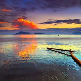 :: red noon :: by Eddy Due Woi - Landscapes Beaches