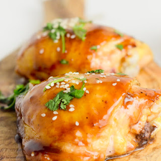 Hoisin-and-Honey Glazed Chicken Thighs