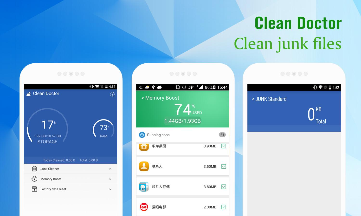 Clean Doctor:Easy&Safe Screenshot 1