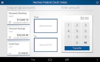 Screenshot of Neches FCU