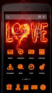 Love Flame-Solo Theme - screenshot