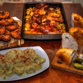 Monday roast, Hungarian version by Bela Paszti - Food & Drink Plated Food ( eu, uk, food, brexit, meat, roast, nikon, hungarian )