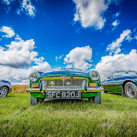 MG by Anthony P Morris - Transportation Automobiles ( clouds, car, sky, anthony morris, cars, mg, cloud, landscape )