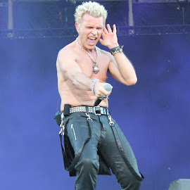 Billy Idol by Roar Randeberg - People Musicians & Entertainers