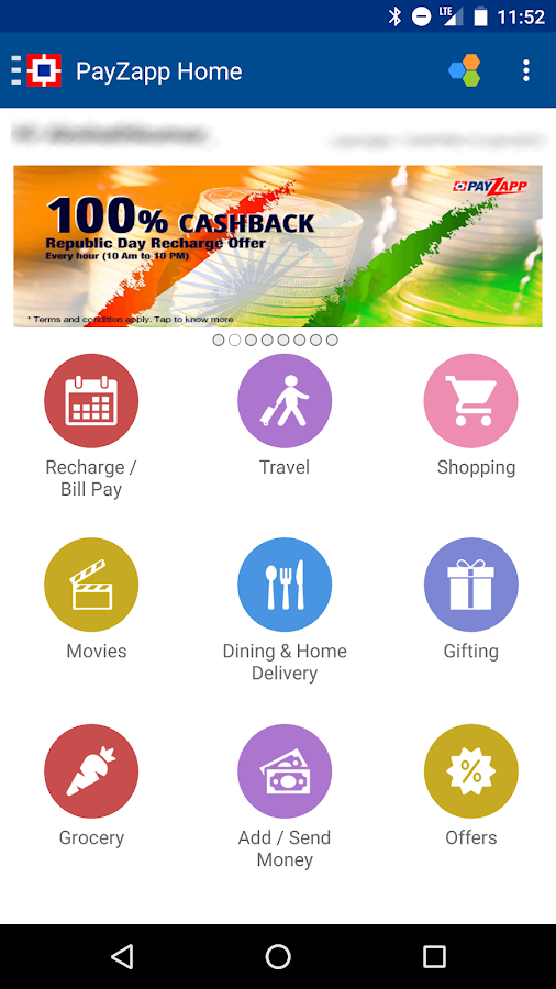 Recharge, Pay Bills & Shop Screenshot 2