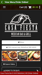 Casa Fiesta Restaurant & Bar - screenshot