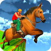 Real Horse Racing Stunts APK Icon