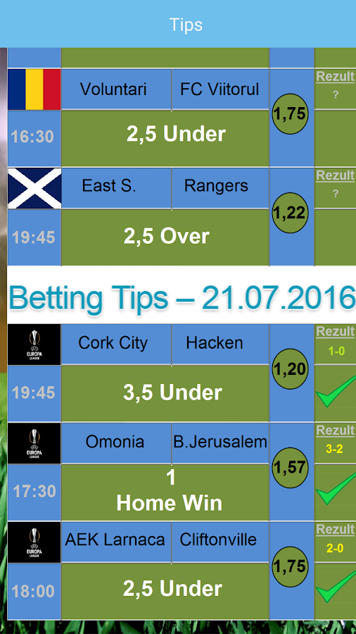 Betting Tips; VIP Screenshot 3