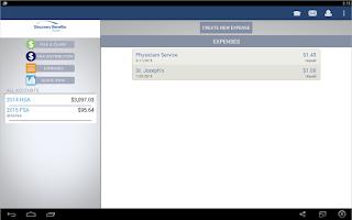 Screenshot of Individual HSA with DBI