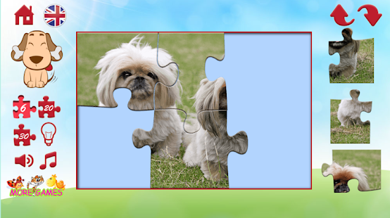 Puzzles of a dog - screenshot