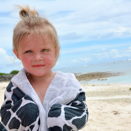 Beach Babe by Kelsey Burgdorf - Babies & Children Child Portraits ( cute kids, sassy, kids, beach, eyes )