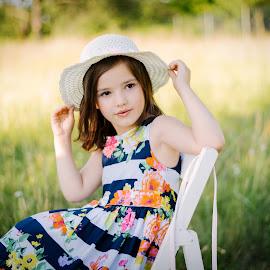 Little princess by Klaudia Klu - Babies & Children Child Portraits ( love, princess, girl, beautiful, kid )