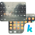 Rain Drops Kika Flat Theme 40.0 icon