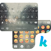 Rain Drops Kika Flat Theme Icon