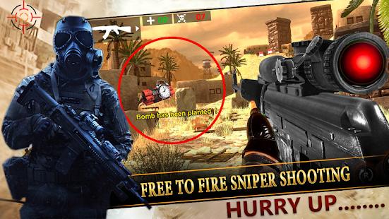 Sniper Gun Strike: Cover Target Elite Shooter 2020