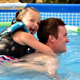 pool fun by Sheri Lim  - People Family ( splashing, pool, summer, kids, pool party, swimming, KidsOfSummer )