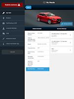 Screenshot of My Mazda