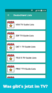 Special Live TV Guide Screenshot