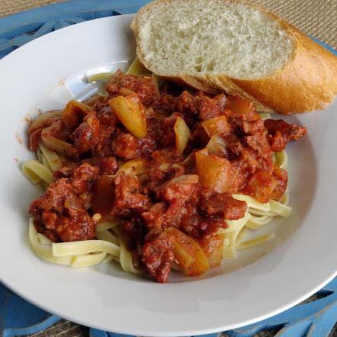 Sausage Cacciatore with Grandma's Peppers