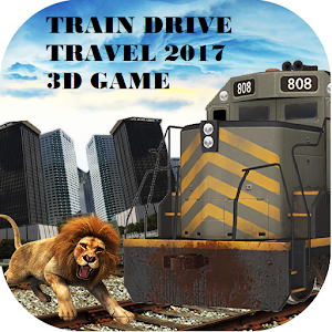 Download Train Drive Travel 2017 3D Game For PC Windows and Mac