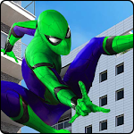 Spider Hero Shooting Battle VS Mafia Gangs Icon