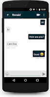 Screenshot of CometChat