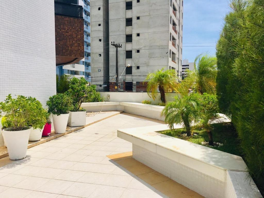 Apartamento com 4 dormitórios à venda, 281 m² por R$ 1.200.000 - Cabo Branco - João Pessoa/PB