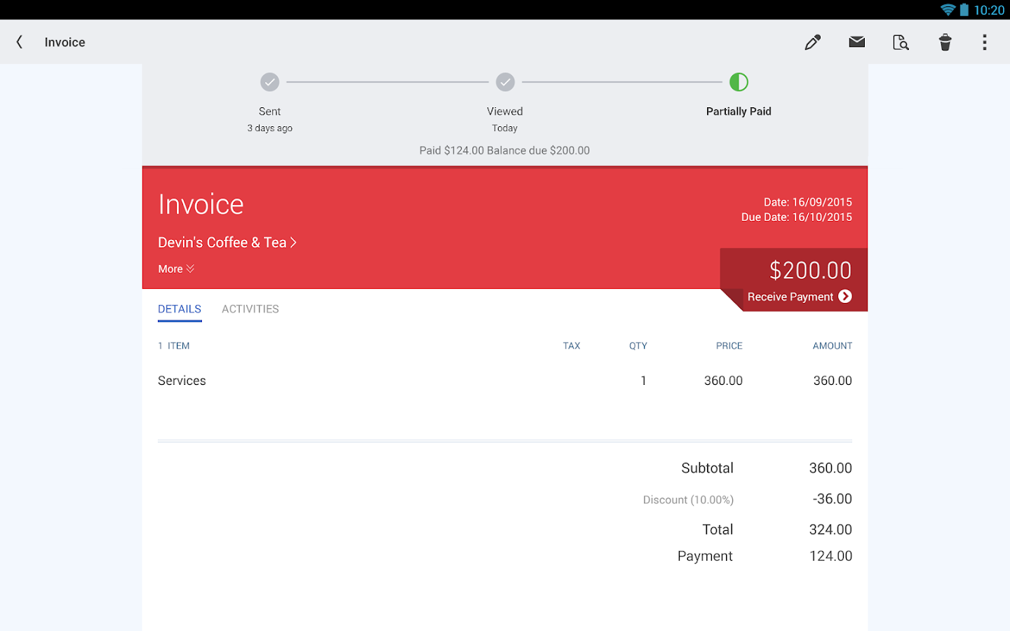QuickBooks Accounting+Invoice Screenshot 11